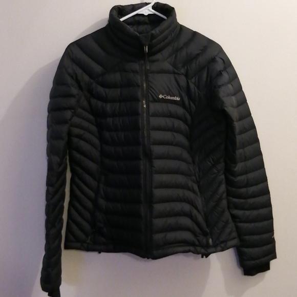 Columbia puffy jacket
